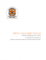 High School Parent Handbook 2017-2018