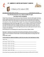Panther Pack REGISTRATION Letter