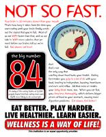 Wellness Flyer Not So Fast