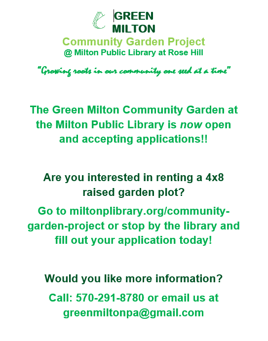 Community Garden Flyer – Page 1