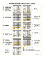 2018-2019 Calendar (Rev. 5/29/2018)