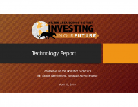 Board Presentation Tech Budget 2018-04-10