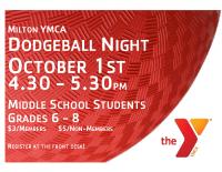 Milton Dodgeball Night Oct 2018