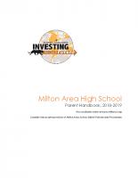 High School Parent Handbook 2018-2019–2