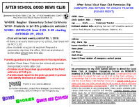 Baugher 2018-19 Good News Club