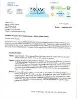 PROAC Proposal – Air Filtration System Cleaning