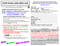 Montandon NOV 2018-19 Good News Club