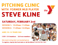 Pitching Clinic Flyer